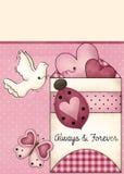Valentinstag-Hintergrund Stockfotos