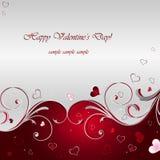 Valentinstag-Hintergrund Lizenzfreie Stockbilder