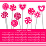 Valentinstag-Hintergrund Lizenzfreies Stockbild
