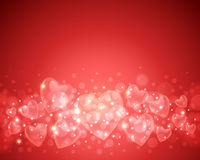 Valentinstag-Hintergrund vektor abbildung