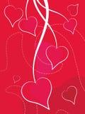 Valentinstag-Hintergrund Lizenzfreies Stockfoto