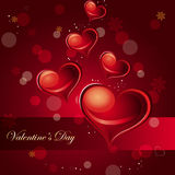 Valentinstag-Karte Stockbilder