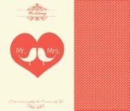 Valentinstag-Karte - Illustration Lizenzfreie Stockfotografie