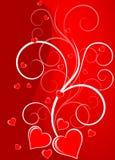Valentinstag-Karten Stockfoto