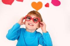 Valentinstag: Kinderspaß lizenzfreie stockfotografie