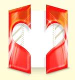 Valentinstag-Zeichen vektor abbildung
