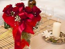 Valentinstagblumenstrauß Lizenzfreies Stockbild