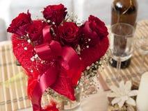 Valentinstagblumenstrauß Lizenzfreie Stockbilder