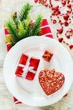 Valentinstaggedeck stockfotografie