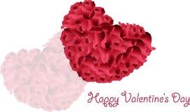 Valentinstaggrüße lizenzfreie abbildung