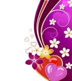 Valentinstaggrußkarte Lizenzfreie Stockfotografie
