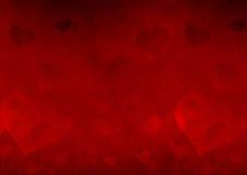 Valentinstaghintergrund Lizenzfreies Stockbild