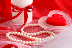 Valentinstaghintergrund Stockfotos