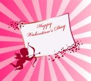 Valentinstaghintergrund vektor abbildung