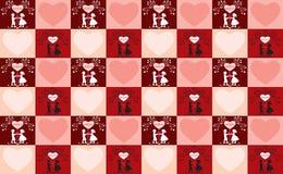 Valentinstaghintergrund. Lizenzfreie Stockfotos