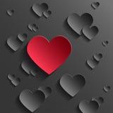 Valentinstaghintergrund stock abbildung