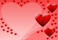Valentinstaghintergrund Lizenzfreie Stockbilder