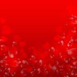 Valentinstaghintergrund mit Inneren Lizenzfreies Stockfoto
