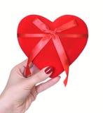 Valentinstaginneres getrennt auf Weiß Lizenzfreies Stockbild