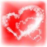 Valentinstaginneres. Vektorabbildung. Stockfoto