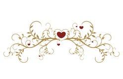 Valentinstagkarte Lizenzfreies Stockfoto