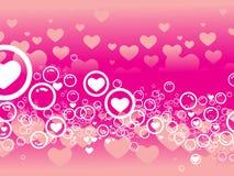 Valentinstagkarte Lizenzfreies Stockbild