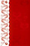 Valentinstagkarte mit Fischen Lizenzfreie Stockfotos