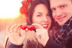 Valentinstagkonzept Stockfoto