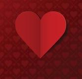 Valentinstagpostkarte Stockbild