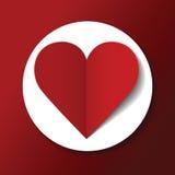 Valentinstagpostkarte Lizenzfreies Stockbild