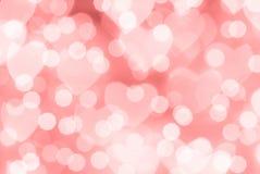 Valentinstagrothintergrund Lizenzfreies Stockfoto