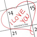 Valentinves Day Stock Image