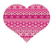 Valentites dags hjärta Fotografering för Bildbyråer