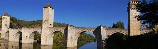 Valentre桥梁 免版税库存图片