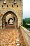 Valentre bridge in Cahors, France Stock Photo