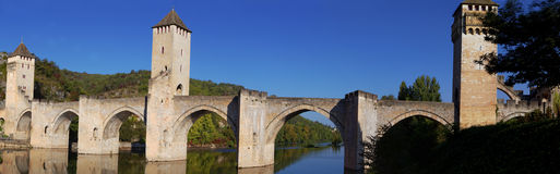 Valentre Bridge Royalty Free Stock Images