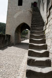 Valentre most Cahors, Francja - Zdjęcia Stock