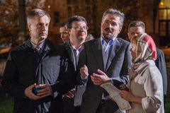 Valentyn Nalyvaichenko - 13ème chef du service de sécurité du R-U Photographie stock libre de droits