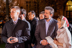 Valentyn Nalyvaichenko - 13th голова службы безопасности Великобритании Стоковые Фото