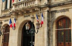 Valenza, Francia - 13 aprile 2016: la città pittoresca immagine stock libera da diritti