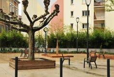 Valenza, Francia - 13 aprile 2016: la città pittoresca immagini stock libere da diritti