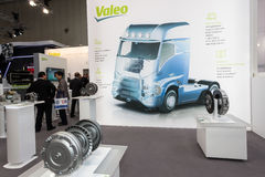 Valeo Company Booth at the IAA 2016 Stock Photography