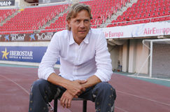 Valeri karpin soccer coach Stock Photo
