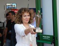 Valeria Golino alGiffoni filmfestival 2011 Fotografering för Bildbyråer