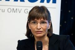 Valeria Racila-Packwagen Groningen Stockbild