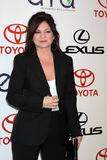 Valerie Bertinelli. LOS ANGELES - OCT 15: Valerie Bertinelli arriving at the 2011 Environmental Media Awards at the Warner Brothers Studio on October 15, 2011 in royalty free stock images