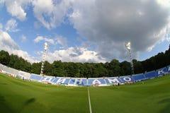 以Valeriy命名的发电机体育场Lobanovskyi在Kyiv 库存图片