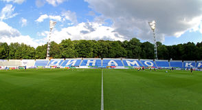 以Valeriy命名的发电机体育场Lobanovskyi在Kyiv 免版税库存照片