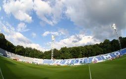 以Valeriy命名的发电机体育场Lobanovskyi在Kyiv 免版税图库摄影
