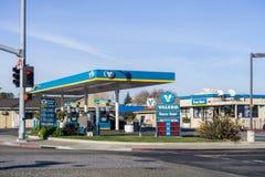 Valero bensinstation royaltyfri bild